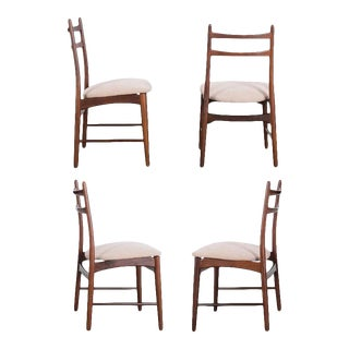 1970s Danish Teak Dining Chairs - Set of Four