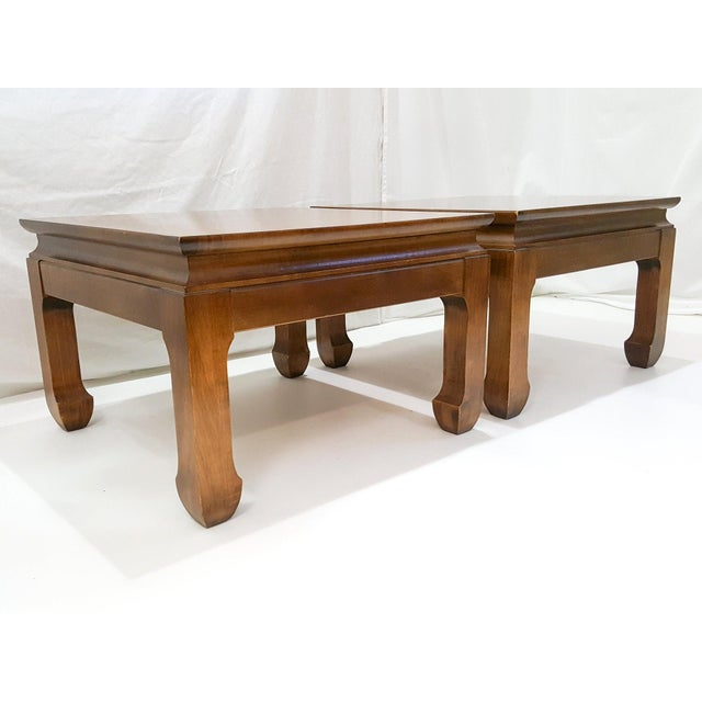 Mid-Century Asian Modern Maple Bunching Tables For Sale - Image 4 of 9