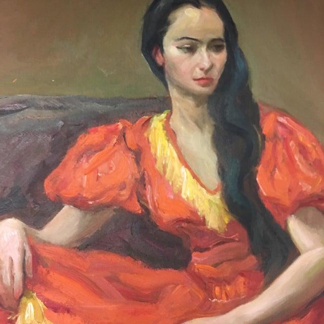 Vintage Portrait of Woman - Image 1 of 6