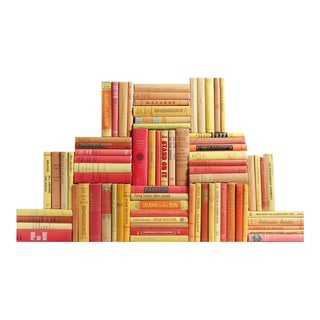 Midcentury Sunburst Book Wall, S/75