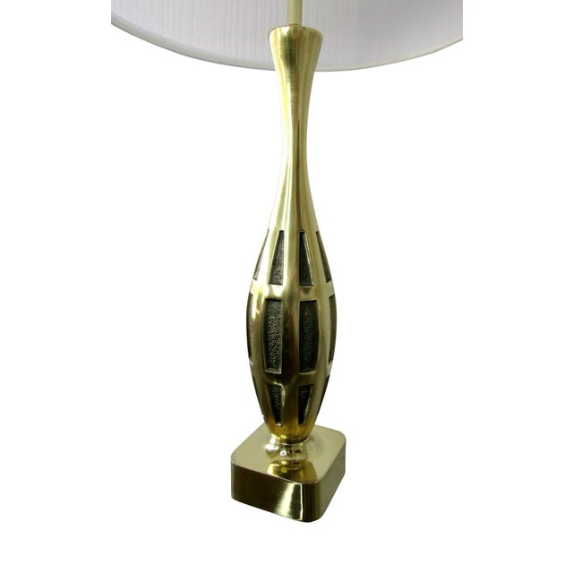 Mid-Century Modern Tony Paul Midcentury Brass Lamps - a Pair For Sale - Image 3 of 8