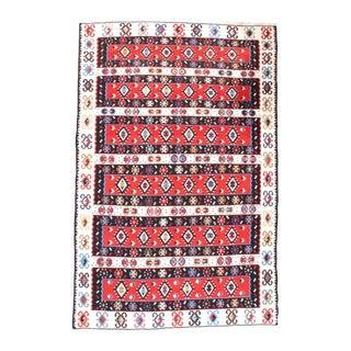 "Pasargad NY Antique Persian Shiraz Kilim Rug - 4'7"" x 7'4"" For Sale"