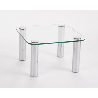 Petite Leon Rosen for Pace Chrome Side Table Preview