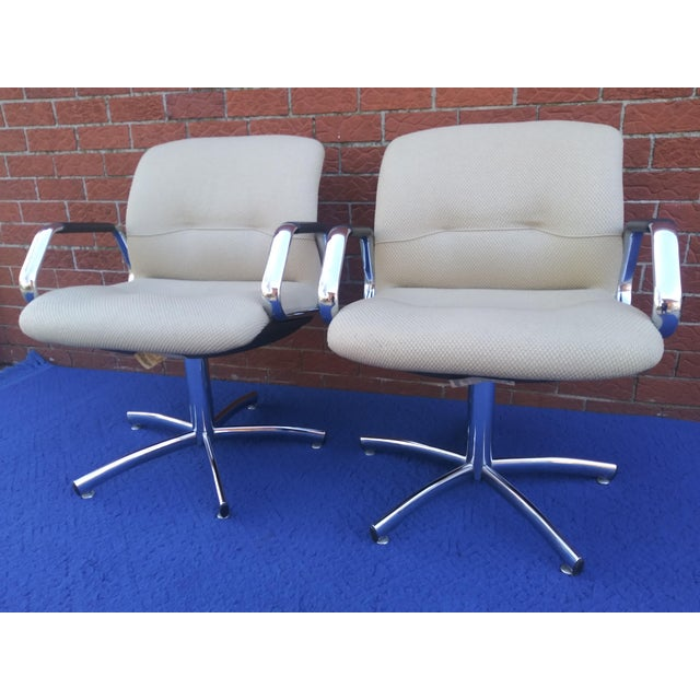 1980's Vintage Steelcase Chair For Sale - Image 9 of 12
