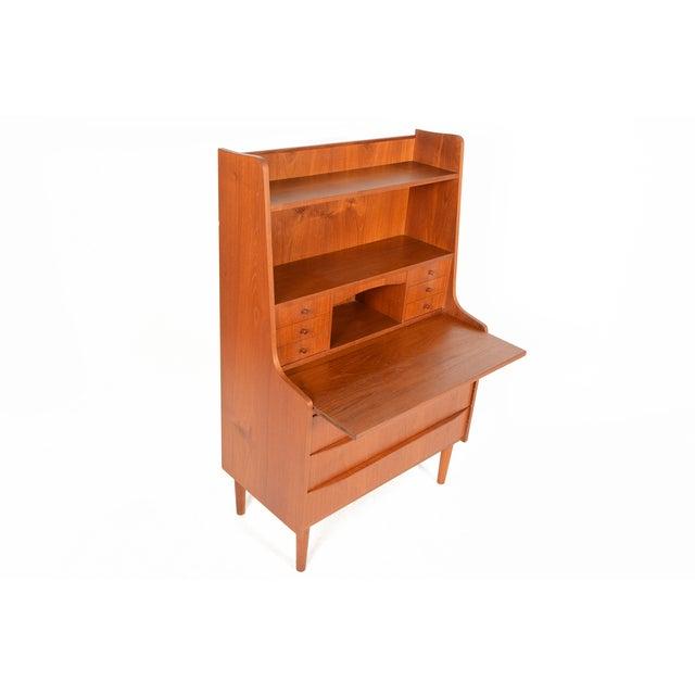 Danish Modern Secretary Bookcase - Image 4 of 10