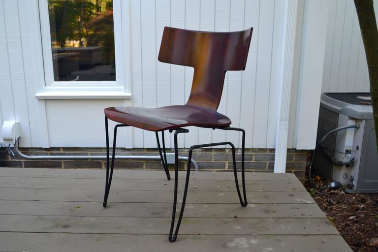 Genial Contemporary Anziano Dining Chairs By John Hutton For Donghia For Sale    Image 3 Of 10