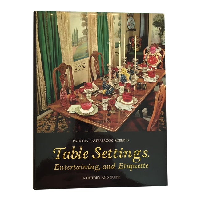 """""""Table Settings"""" Book, 1967 - Image 1 of 5"""