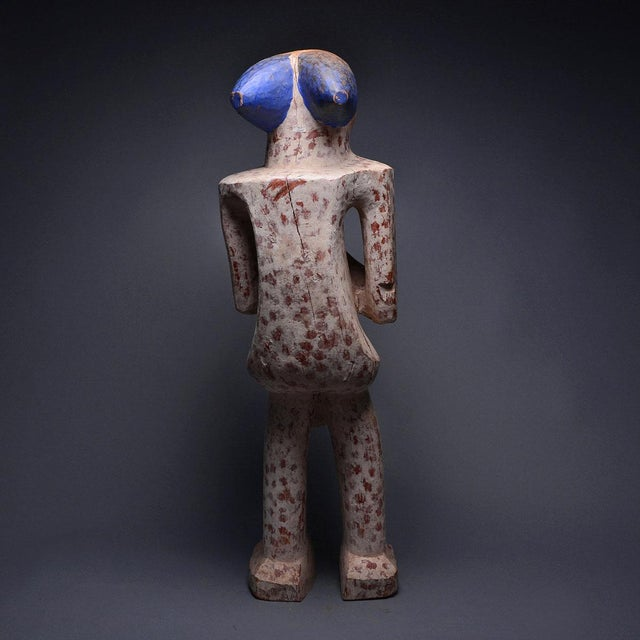 Bangwa Wooden Polychrome Sculpture For Sale - Image 4 of 5