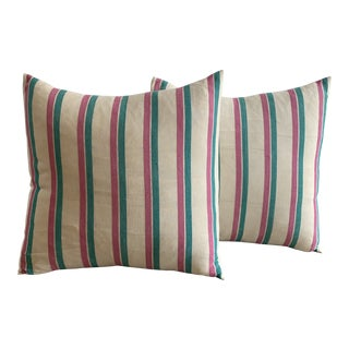 Heather Taylor Home Decorative Pillows - a Pair For Sale