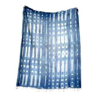 Vintage Indigo Throw Textile