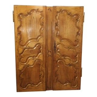 Pair of 18th Century Armoire Doors from Arles France For Sale
