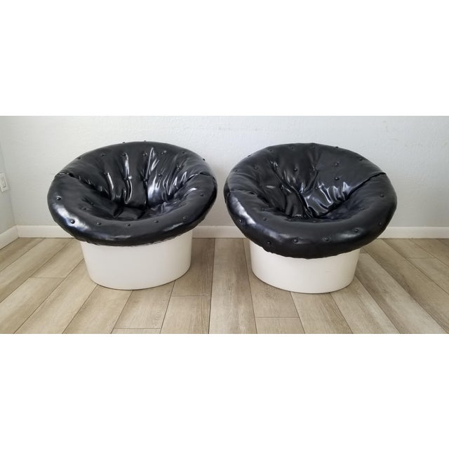 Italian Postmodern Style Out / Indoor Club Chairs a Pair . For Sale - Image 12 of 12