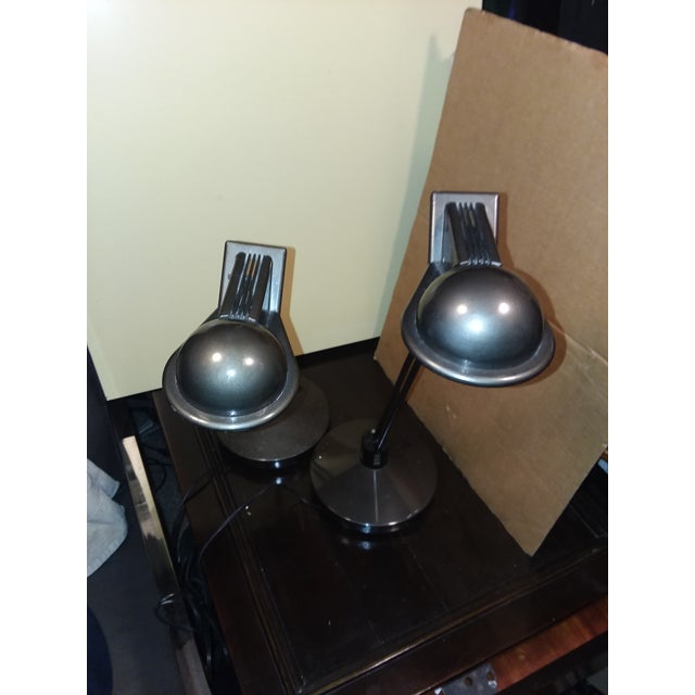 Metalarte Moving Sale Price $375 Metalarte Design Award Winning Anad E Table Lamps - a Pair For Sale - Image 4 of 9