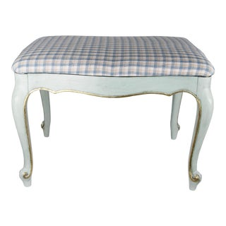1920s Vintage Painted Italian Bench For Sale
