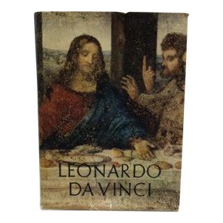 1956 Leonardo Da Vinci Art Coffee Table Book For Sale