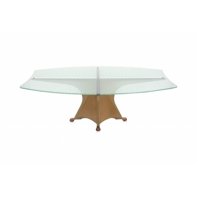 1980s Oscar Tusquets Blanca Alada Dining Table For Sale - Image 5 of 9