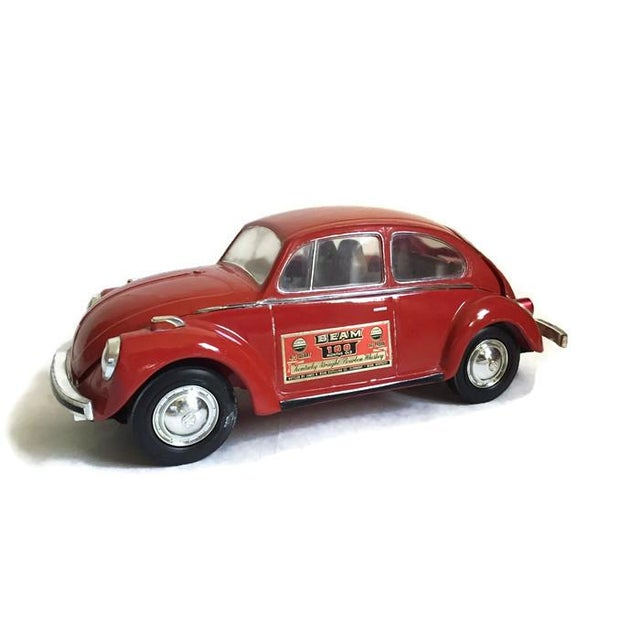 Vintage 1970's Volkswagen Bug Liquor Decanter Retro Barware - Image 2 of 7