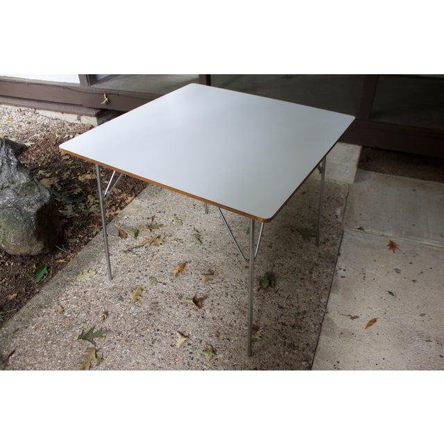Eames DTM20 Folding Dining Table by Herman Miller For Sale - Image 6 of 8