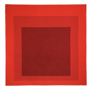 Josef Albers Homage to the Square Tapestry For Sale