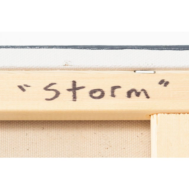 """Canvas Maura Segal, """"Storm"""" For Sale - Image 7 of 7"""