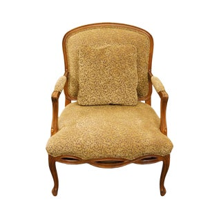 Late 20th Century Vintage Sherrill Italian-Made Accent Chair For Sale