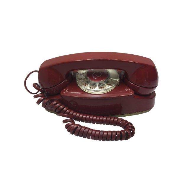 Vintage Red Princess Rotary Dial Telephone - Image 1 of 11