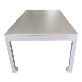 Redford House Morris White Wash Dining Table For Sale