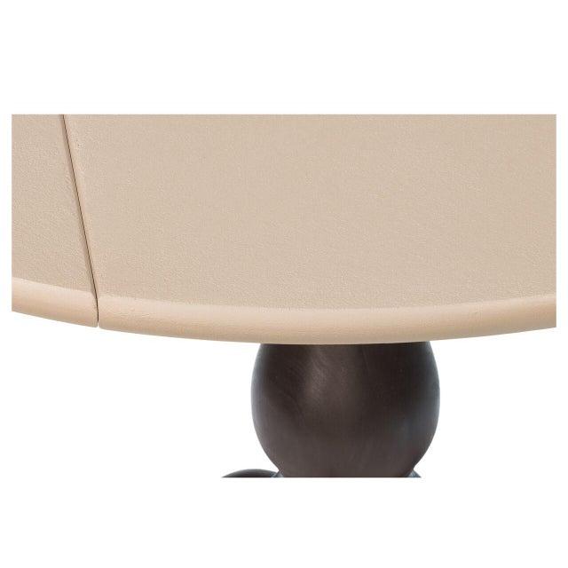 Sarreid LTD Round Pedestal Bistro Table - Image 3 of 6