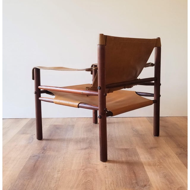 1960s Vintage Sirocco Chair by Arne Norell For Sale - Image 5 of 13