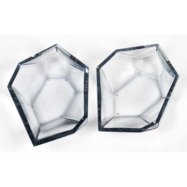 Glass Contemporary A. Donna Geometric Murano Glass Bowls For Sale - Image 7 of 12