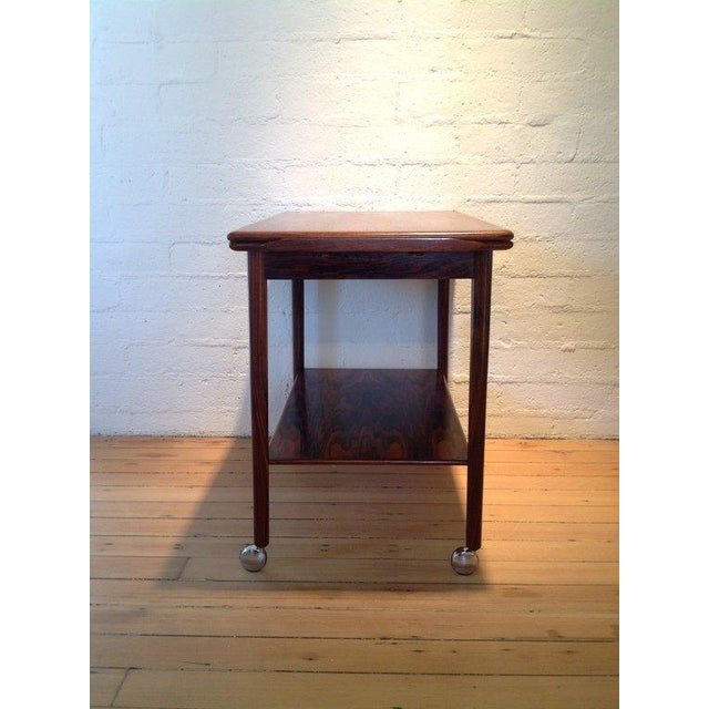 Drylund Rosewood Bar Cart by Drylund For Sale - Image 4 of 7