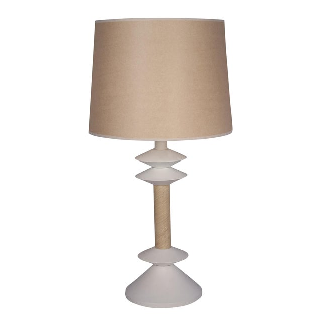 Jay Spectre Disc Elements Table Lamp - Image 1 of 6