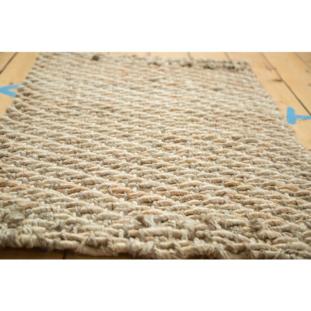 """Hand Braided Ivory Entrance Mat - 2'2"""" X 3'1"""" - Image 2 of 2"""