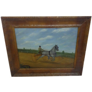 Horse Racing by H.P. McCullough For Sale