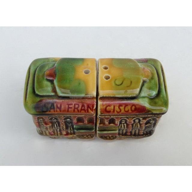 Vintage San Fransisco Cable Car Salt & Pepper Shakers - Image 10 of 11