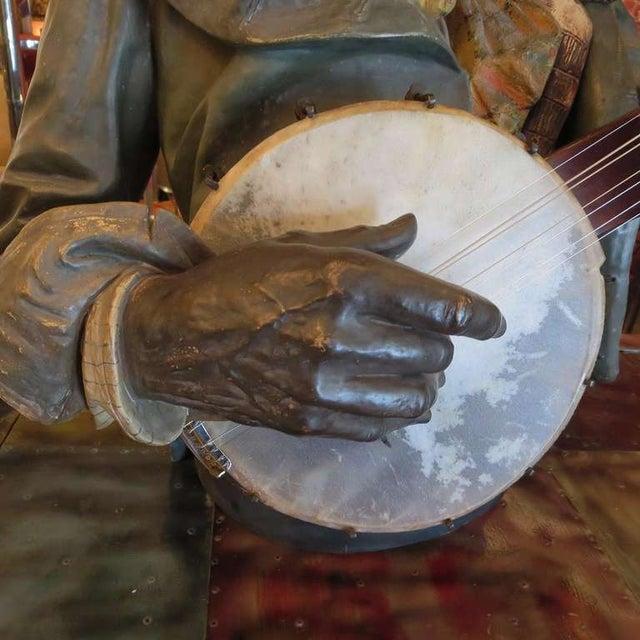 Goldscheider Ceramic Minstrel With Banjo For Sale - Image 7 of 8