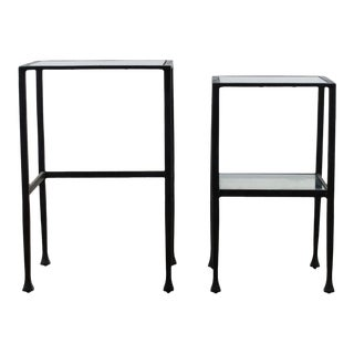 Pottery Barn Tanner Nesting Tables - Set of 2 For Sale