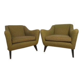 Vintage Modern Club Chairs