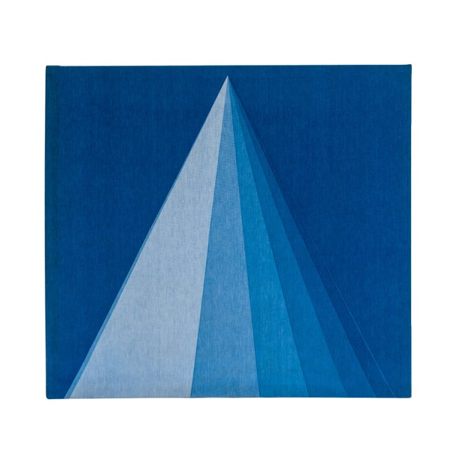 Mid-Century Verner Panton for Mira X Stretched Fabric Wall Hanging For Sale - Image 12 of 12