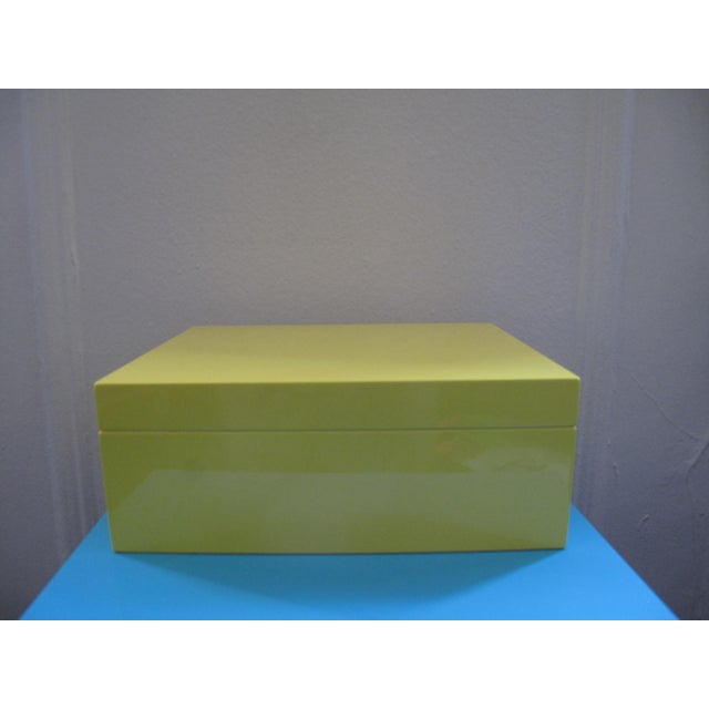Lacquer Jewelry Box - Image 2 of 5