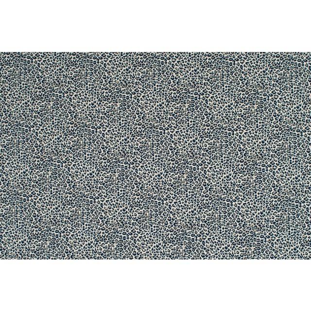 Contemporary Stark Studio Rugs, Wildlife, Cobalt, Sample For Sale - Image 3 of 4