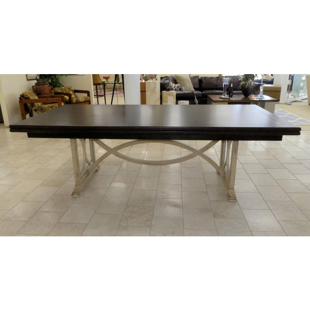 Country Habersham Tribeca Dining Table For Sale - Image 3 of 13