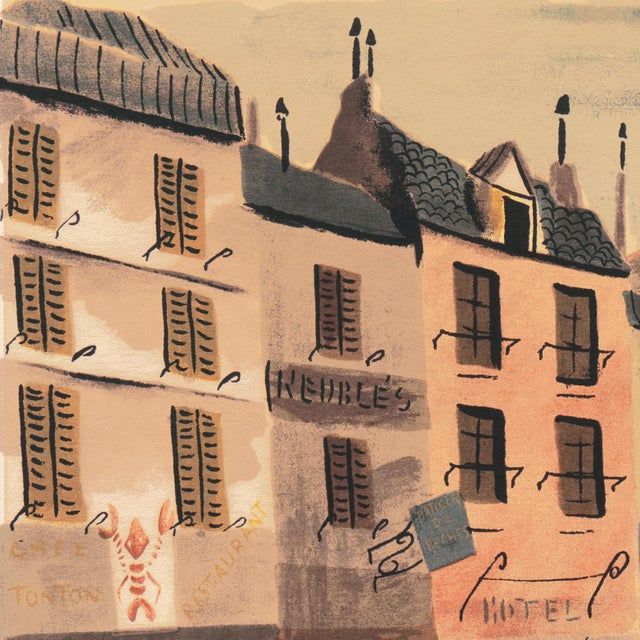 1950s 'Breton Village With Lighthouse' by Charles De Montfort, Mid-Century French Post-Impressionist For Sale - Image 5 of 8
