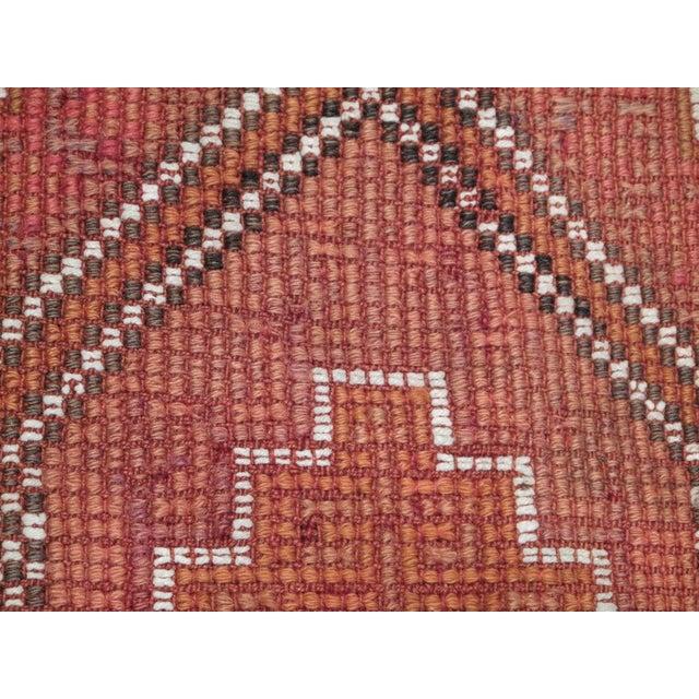 "Fabric ""Zili"" Kilim For Sale - Image 7 of 7"