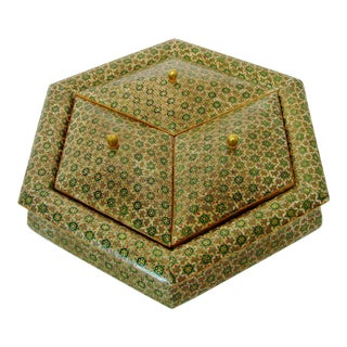 Persian Marquetry Box