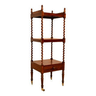 19th Century English Rosewood Étagère For Sale