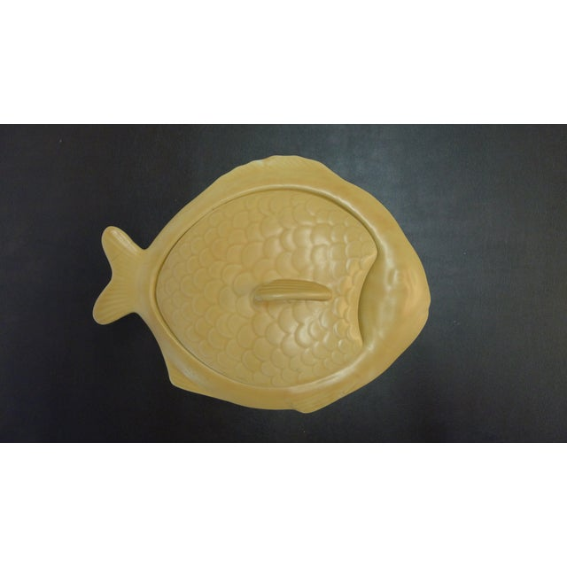 English Earthenware Fish Serving Plates - Set of 4 For Sale In Los Angeles - Image 6 of 13