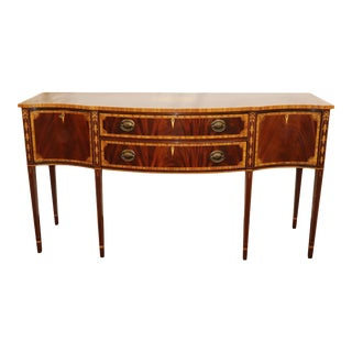 Federal Style Inlaid Sideboard For Sale