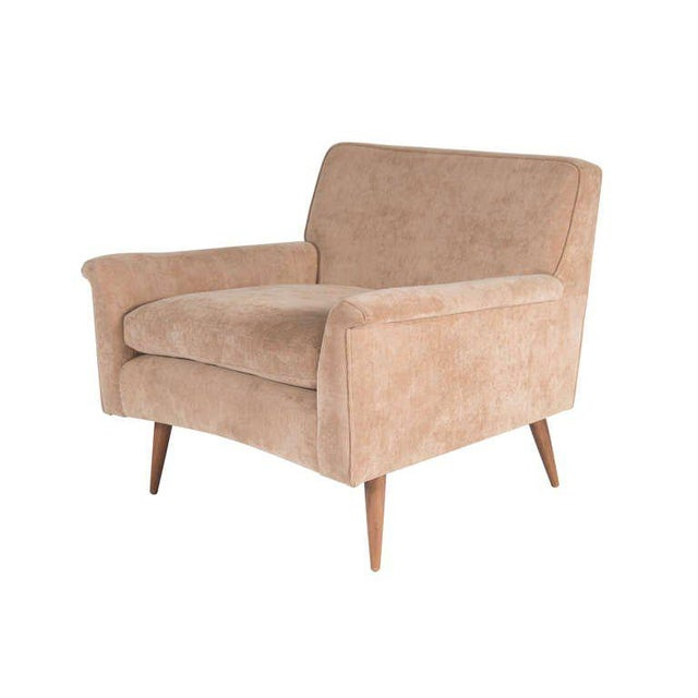 Modern Customizable Barnaby Club Chair For Sale - Image 3 of 4