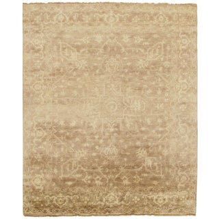 """Traditional Pasargad N Y Original Serapi Design Hand-Knotted Rug - 7'10"""" X 9'5"""""""